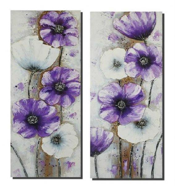 Cuadros de flores pintados a mano images for Cuadros pintados a mano