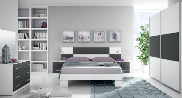 Dormitorio de matrimonio for Muebles de dormitorio de matrimonio modernos