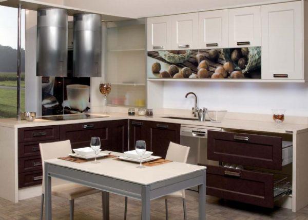 Cocinas r sticas for Cocinas integrales modernas chiquitas