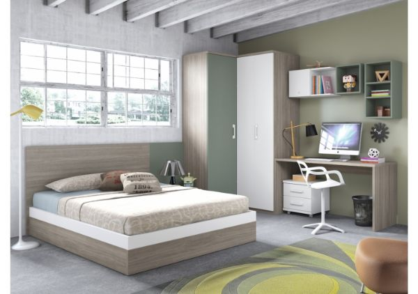 Juvenil for Habitaciones juveniles cama 105
