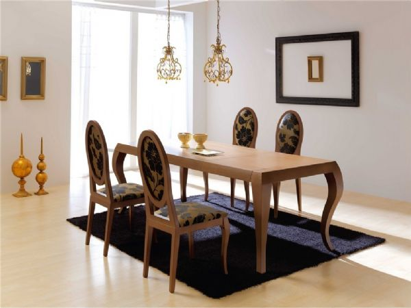 Conjuntos mesa de comedor sillas for Isabelinas modernas