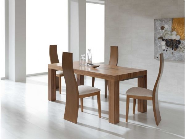 Conjuntos mesa de comedor sillas for Mesas y sillas modernas