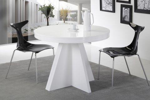 Mesa de comedor redonda for Mesas redondas para comedor modernas